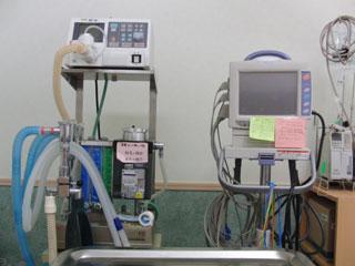 麻酔器・モニター・人工呼吸器