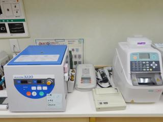 遠心機・内分泌検査器・血液凝固検査